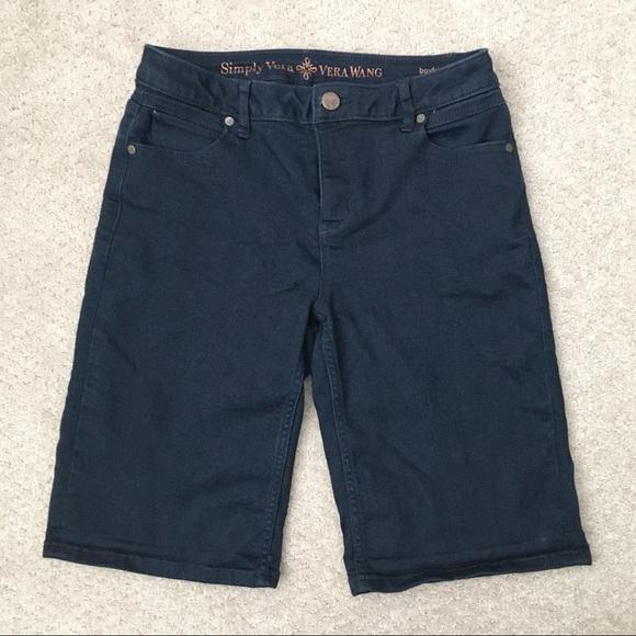 Simply Vera Vera Wang Pants - Vera Wang boyfriend shorts
